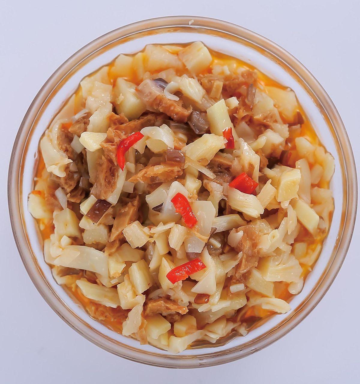 食譜:竹筍素醬