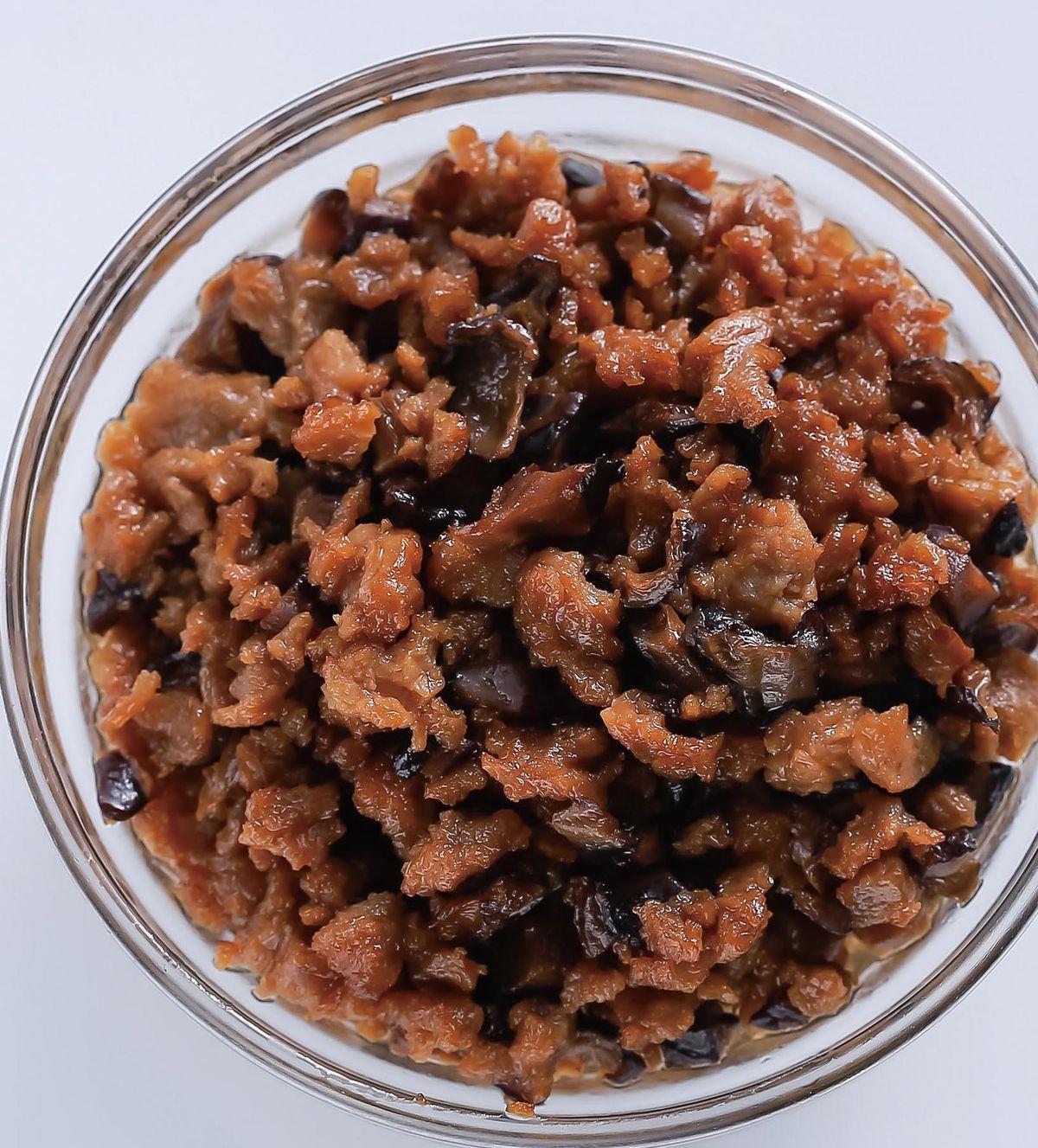 食譜:香菇素肉醬(1)
