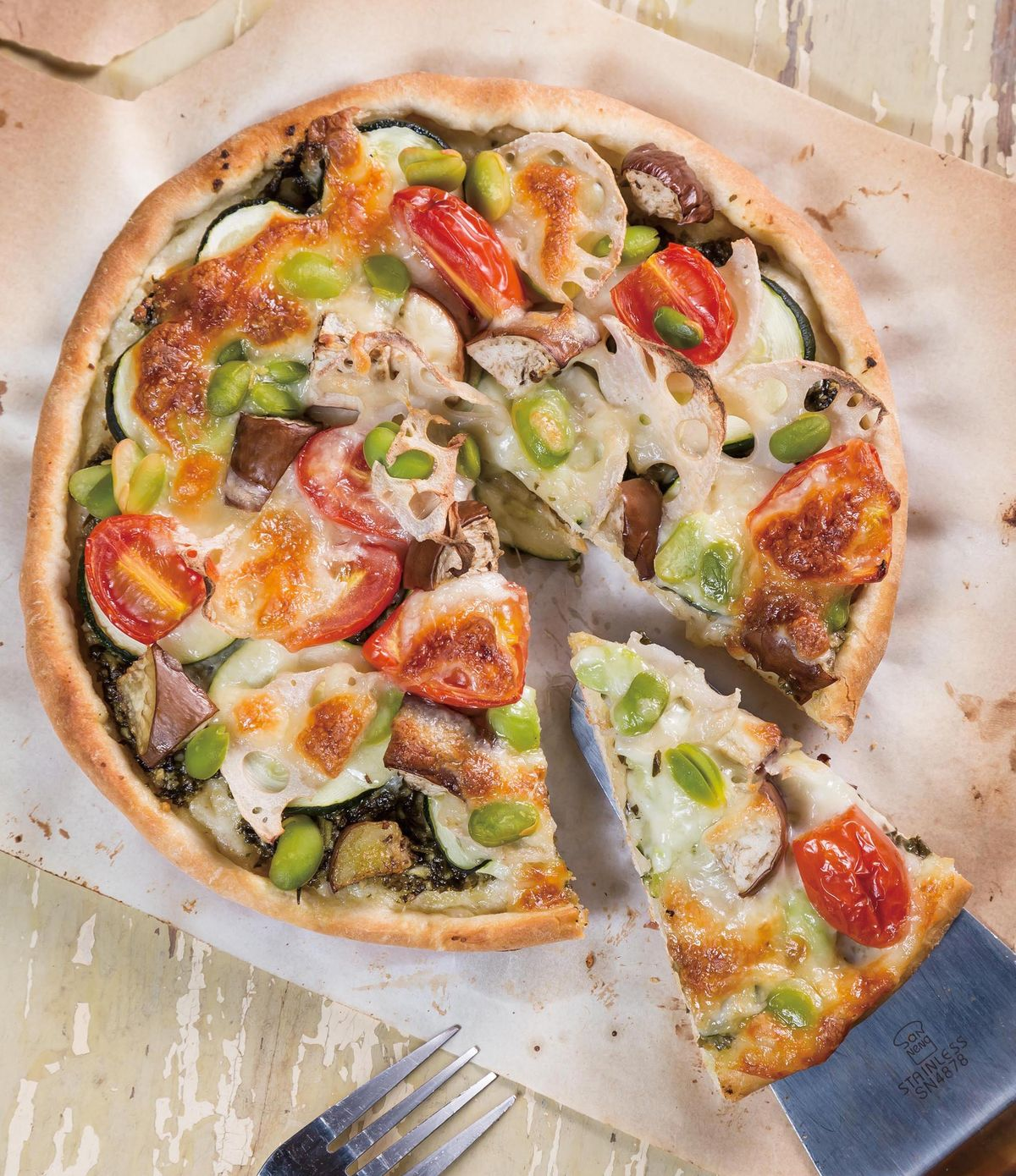 食譜:時蔬披薩
