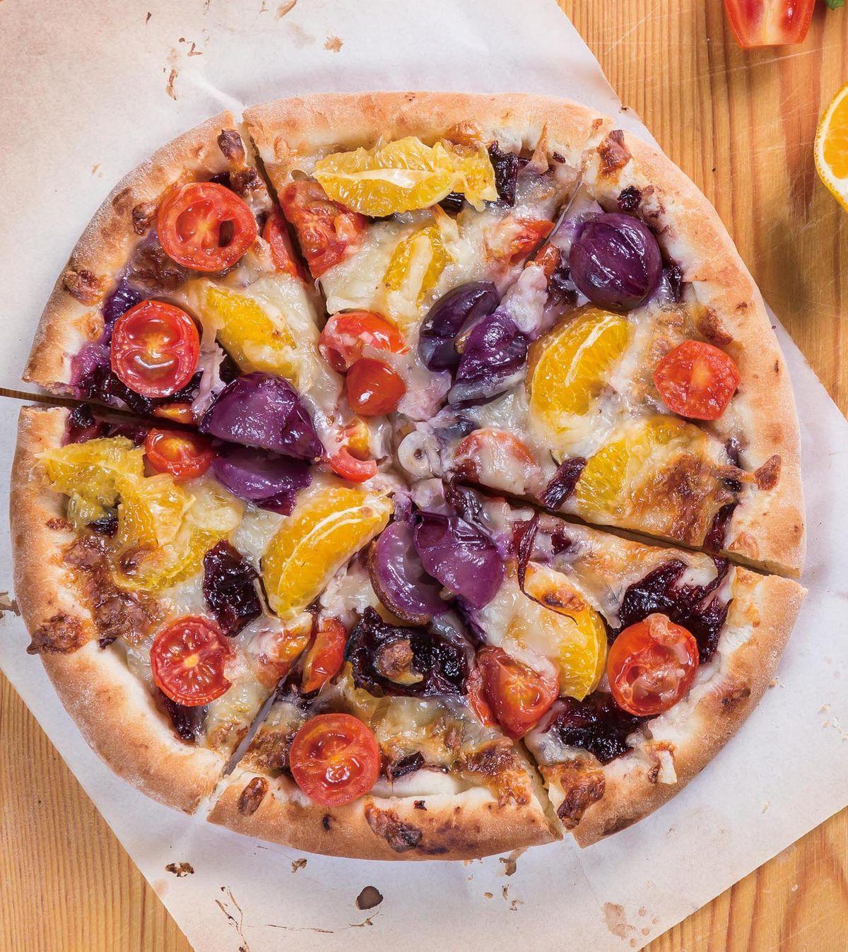 食譜:水果披薩(1)