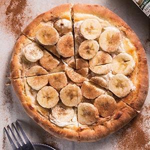 香蕉肉桂披薩