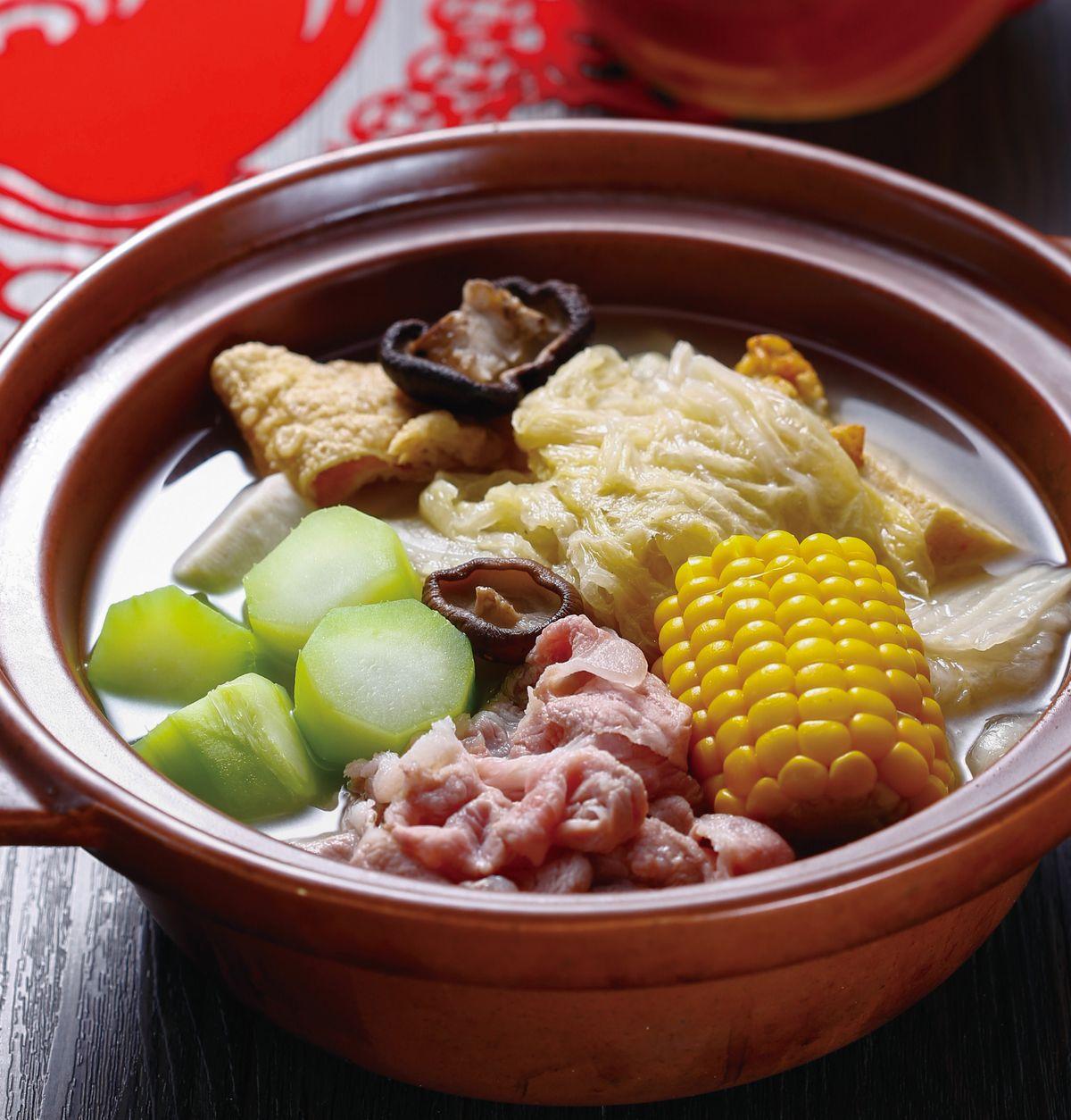 食譜:酸菜白肉鍋(6)