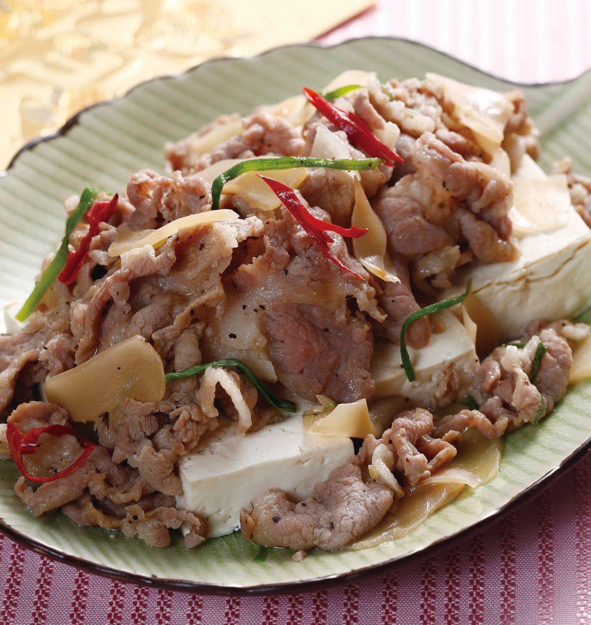 食譜:富貴蒸豆腐