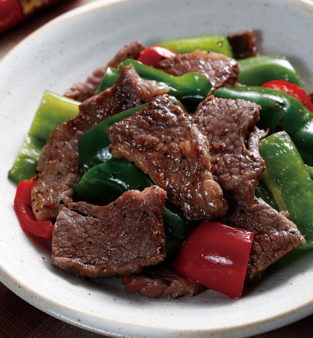食譜:青椒牛小排
