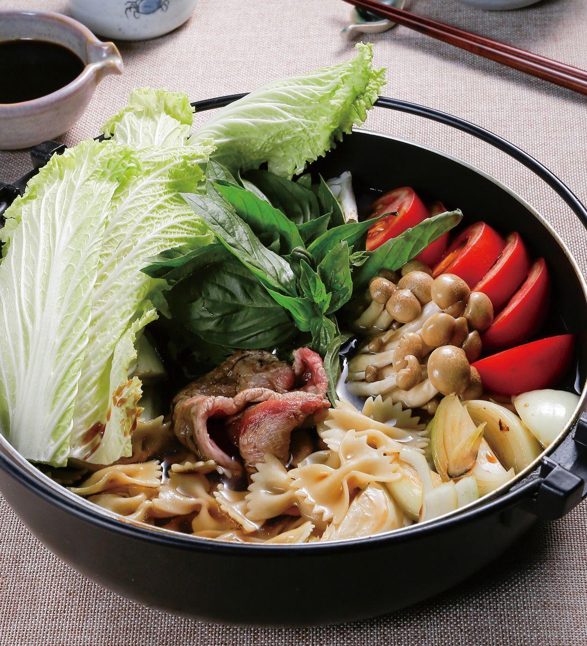 食譜:義式壽喜燒鍋