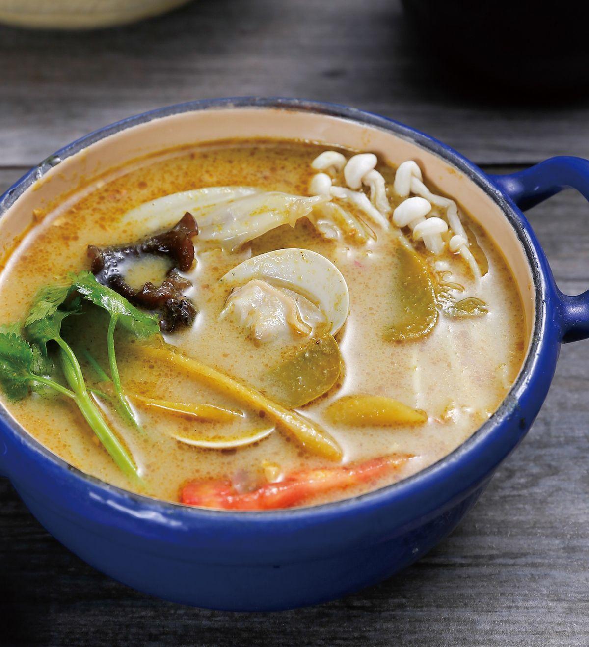 食譜:泰式綠咖哩鍋