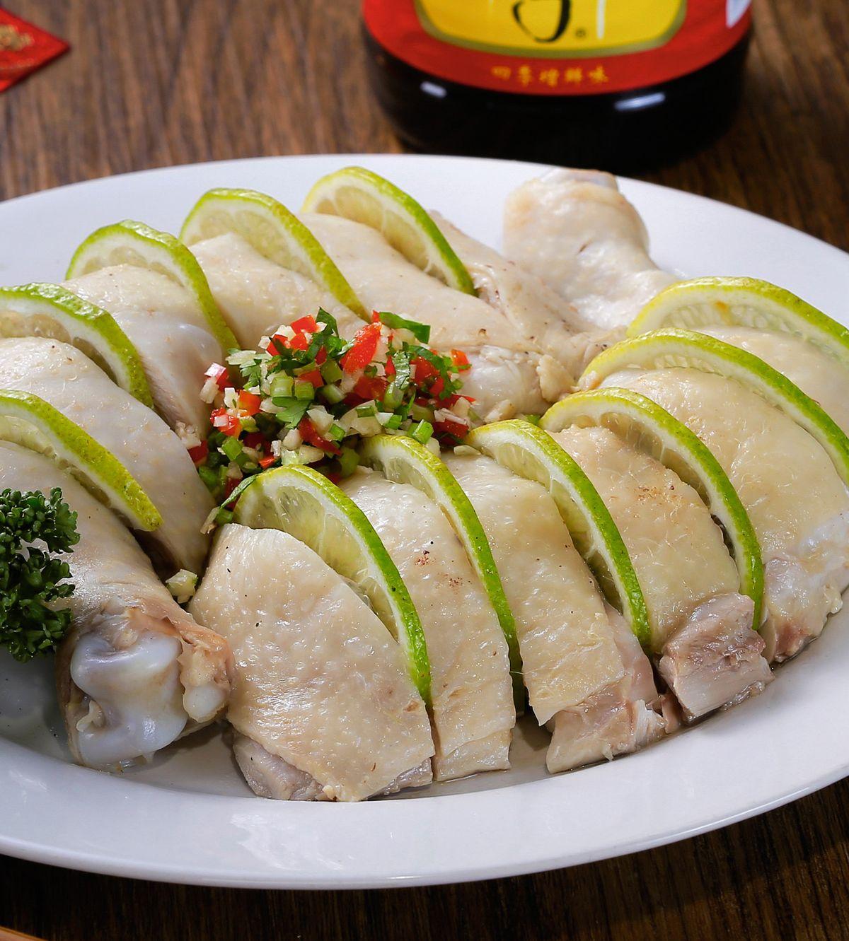 食譜:香檸白切雞