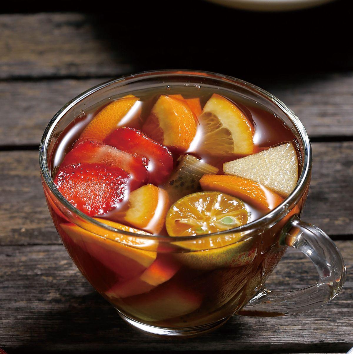食譜:熱水果茶