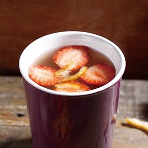 草莓柚子茶