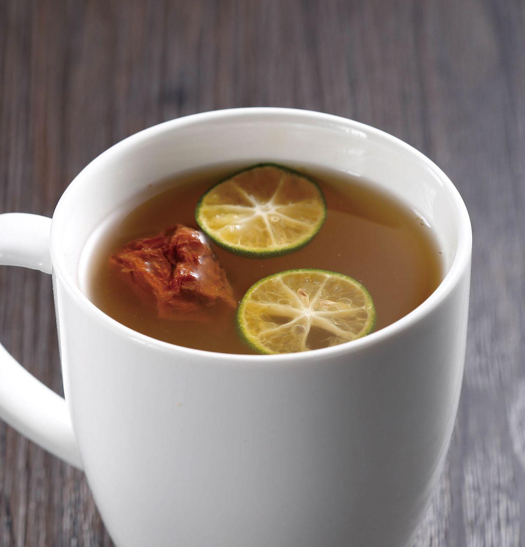 食譜:金桔綠茶(1)