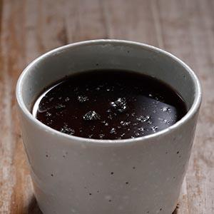 芝麻木耳黑豆茶