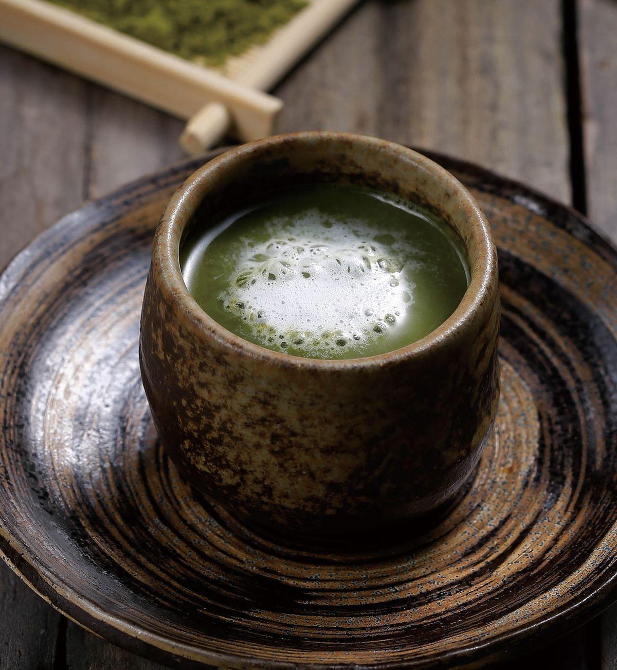 食譜:抹茶拿鐵(1)