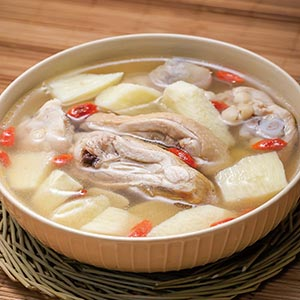 山藥枸杞雞湯(3)
