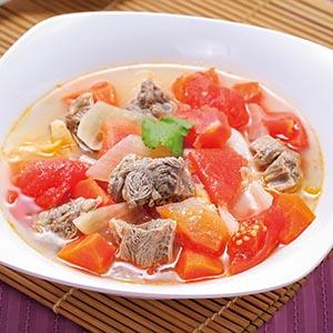 蔬菜牛腩湯