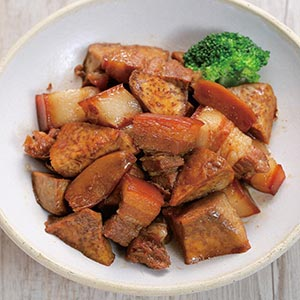 芋頭燒肉(3)