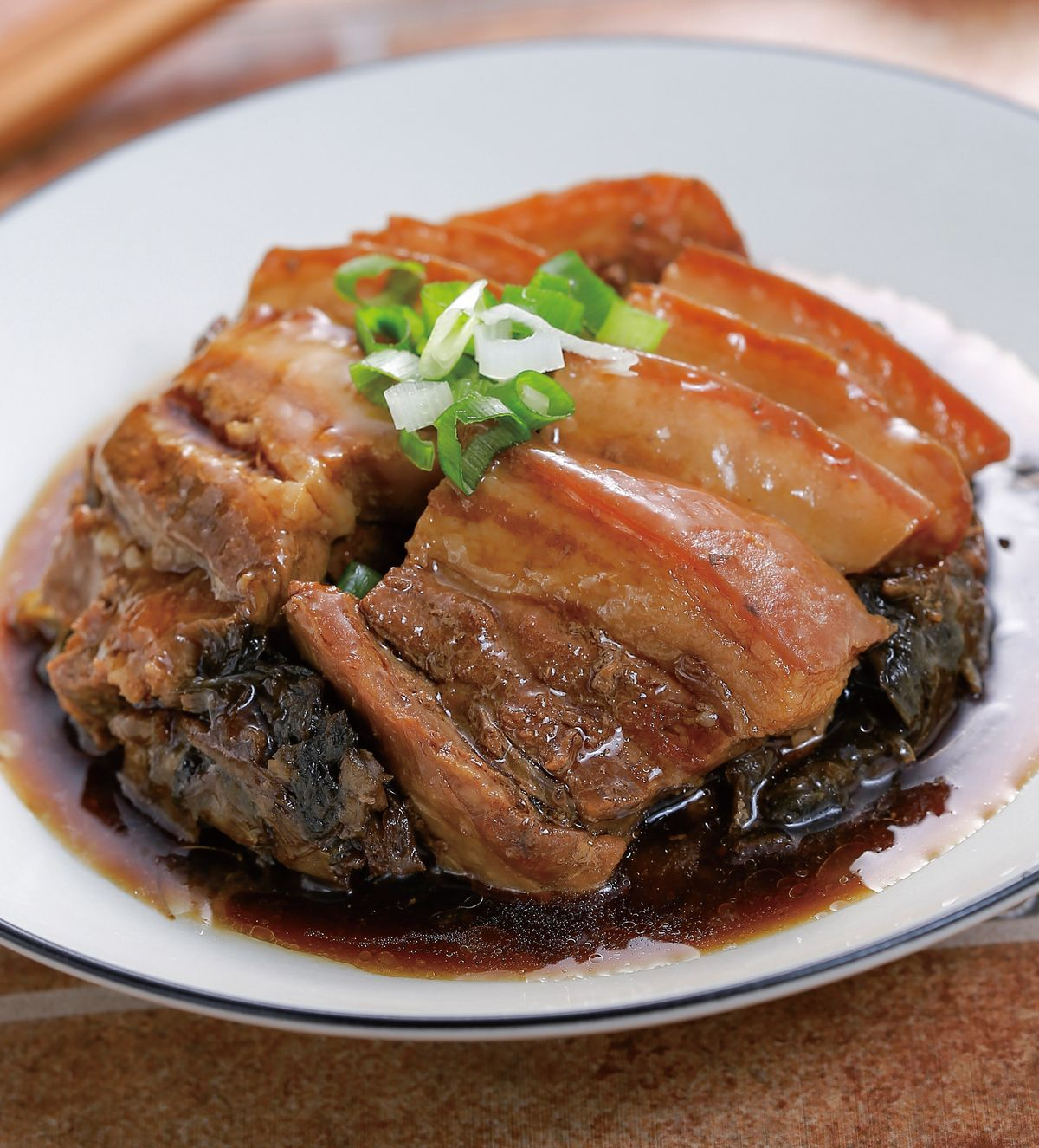 食譜:梅乾菜扣肉