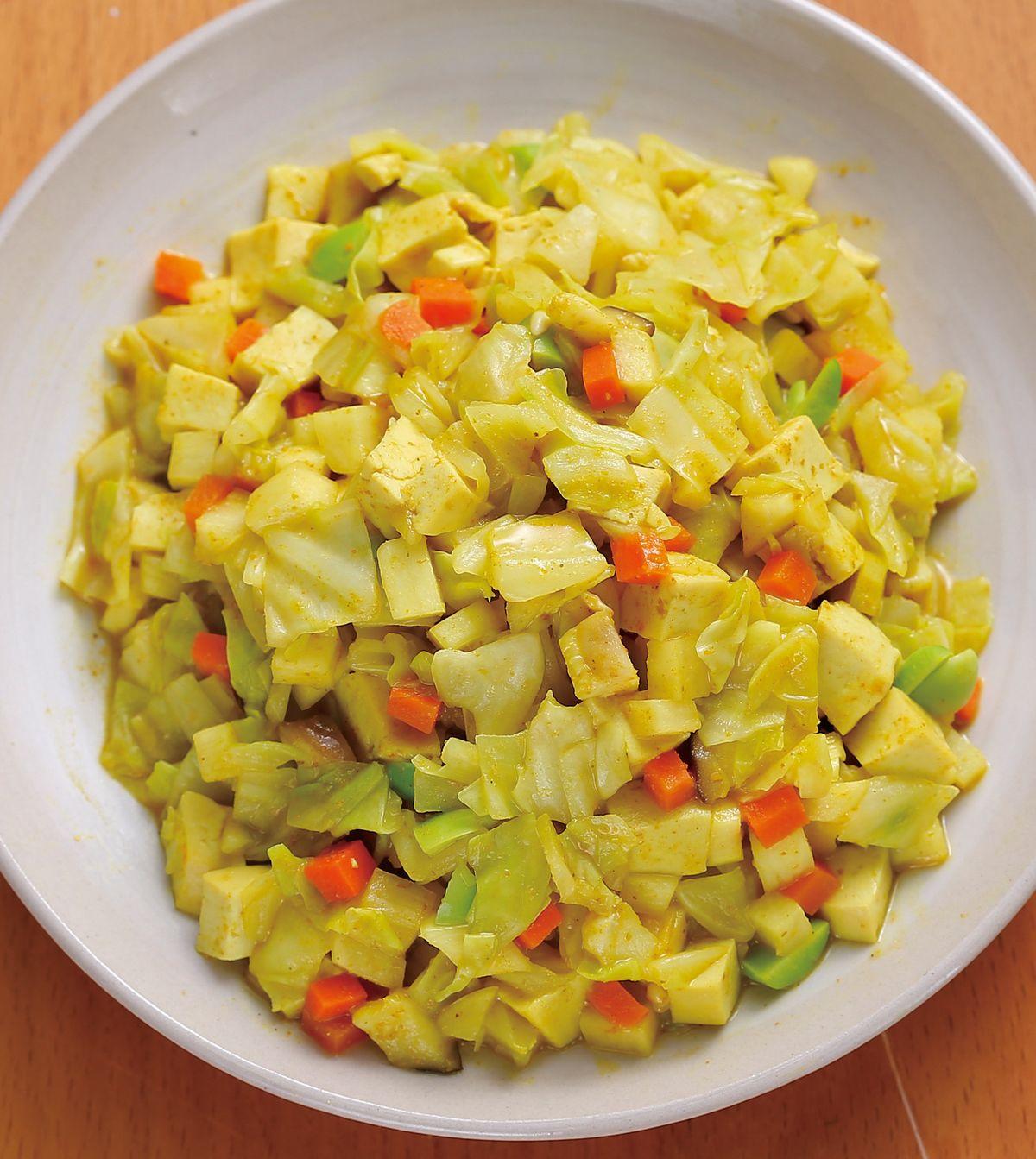 食譜:咖哩蔬菜(1)