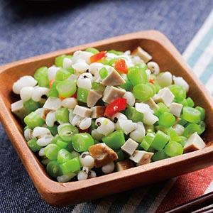 香菇四季豆