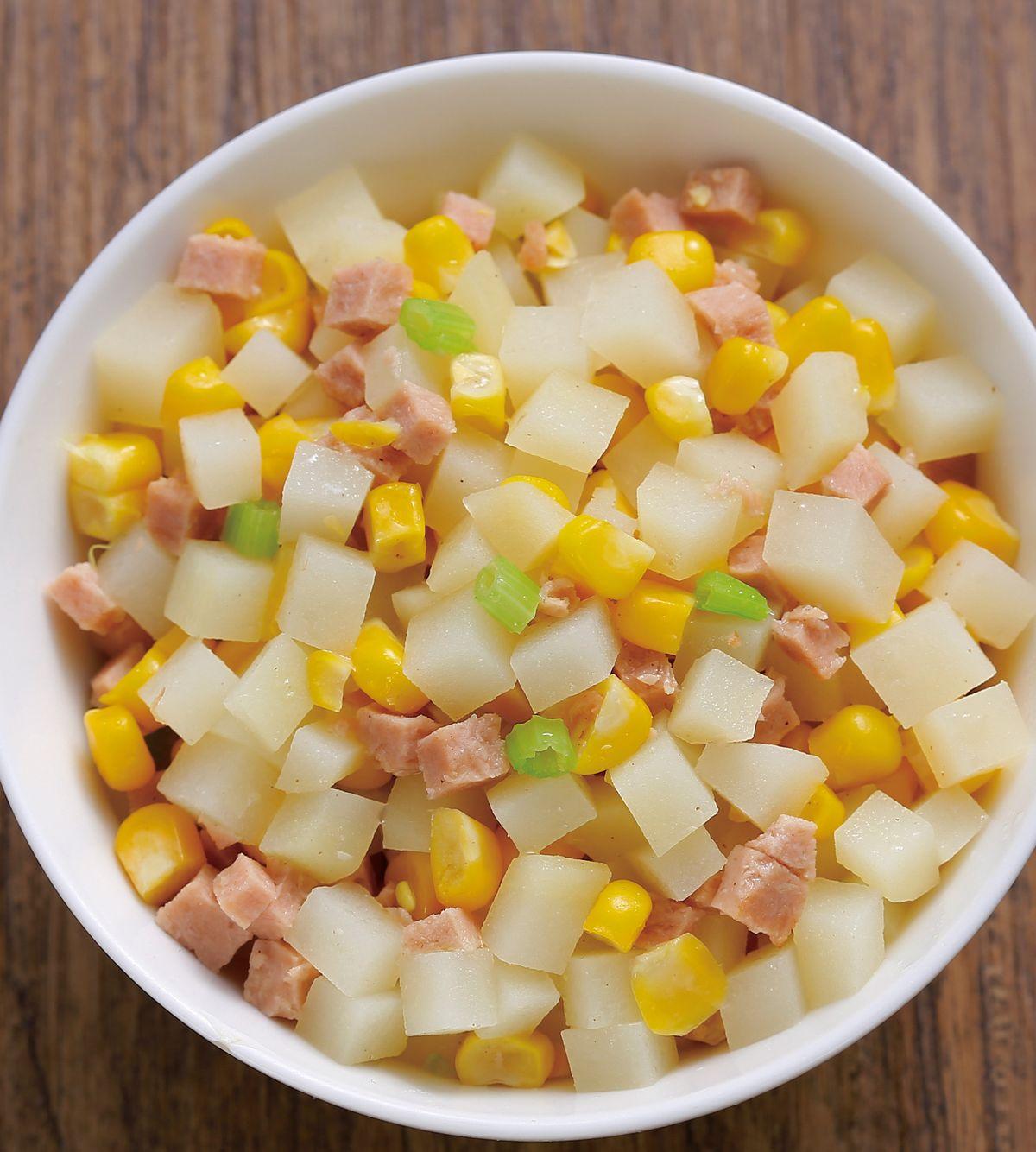 食譜:玉米馬鈴薯