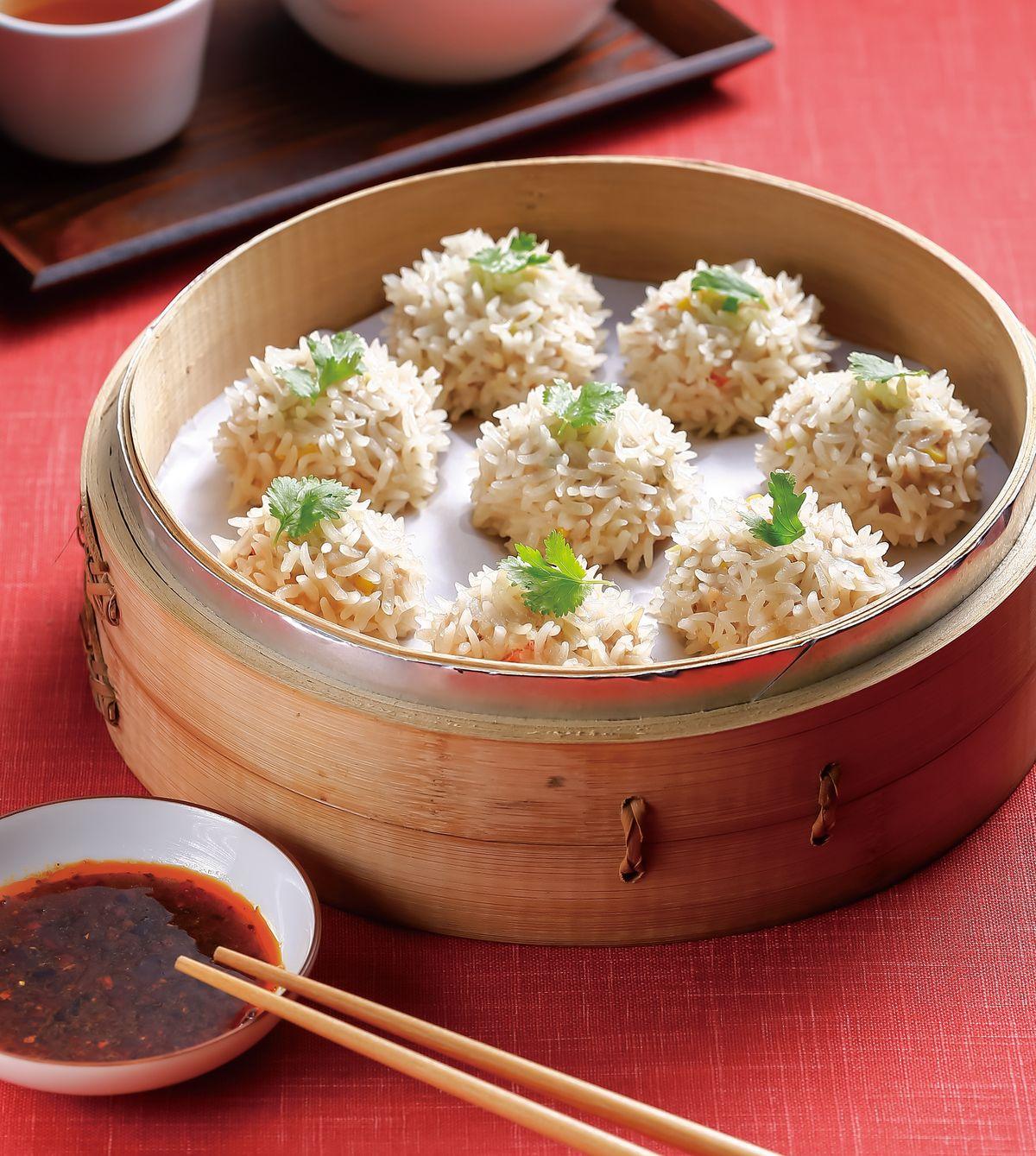 食譜:珍珠團圓丸子(1)