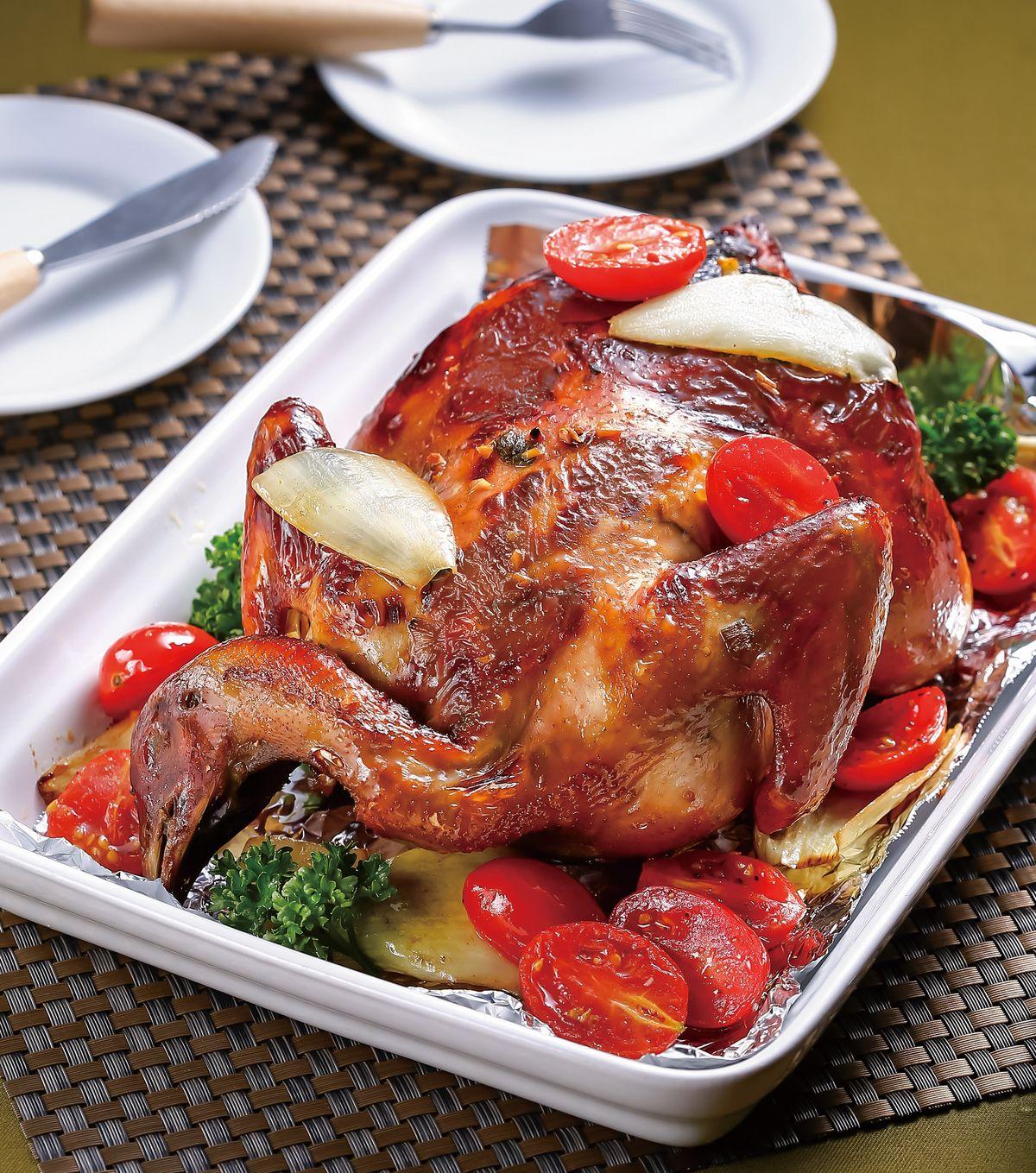 食譜:全家福烤雞