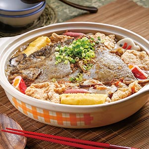 沙茶魚頭米粉