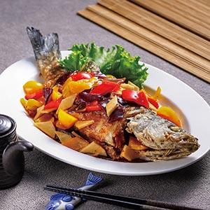 五彩糖醋魚(2)