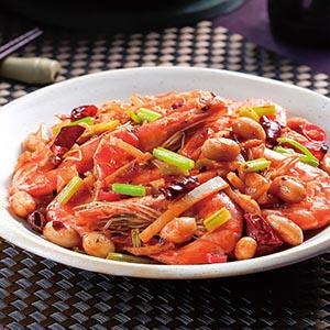 乾鍋香辣蝦(1)