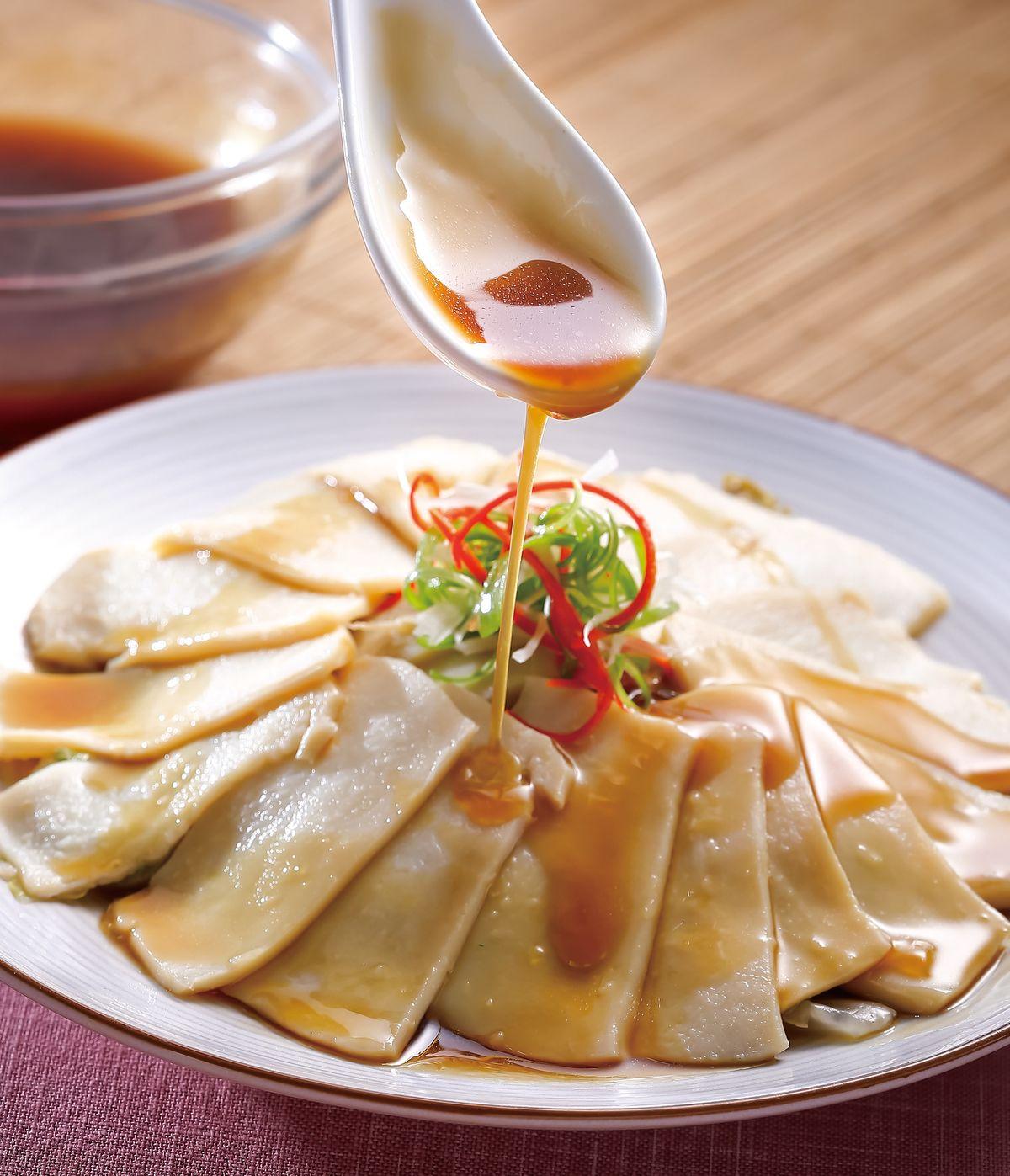 食譜:蠔汁白菜燴鮑片