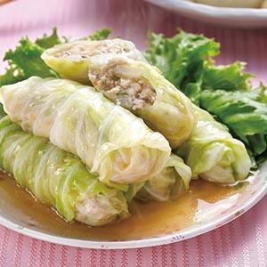蝦漿高麗菜卷