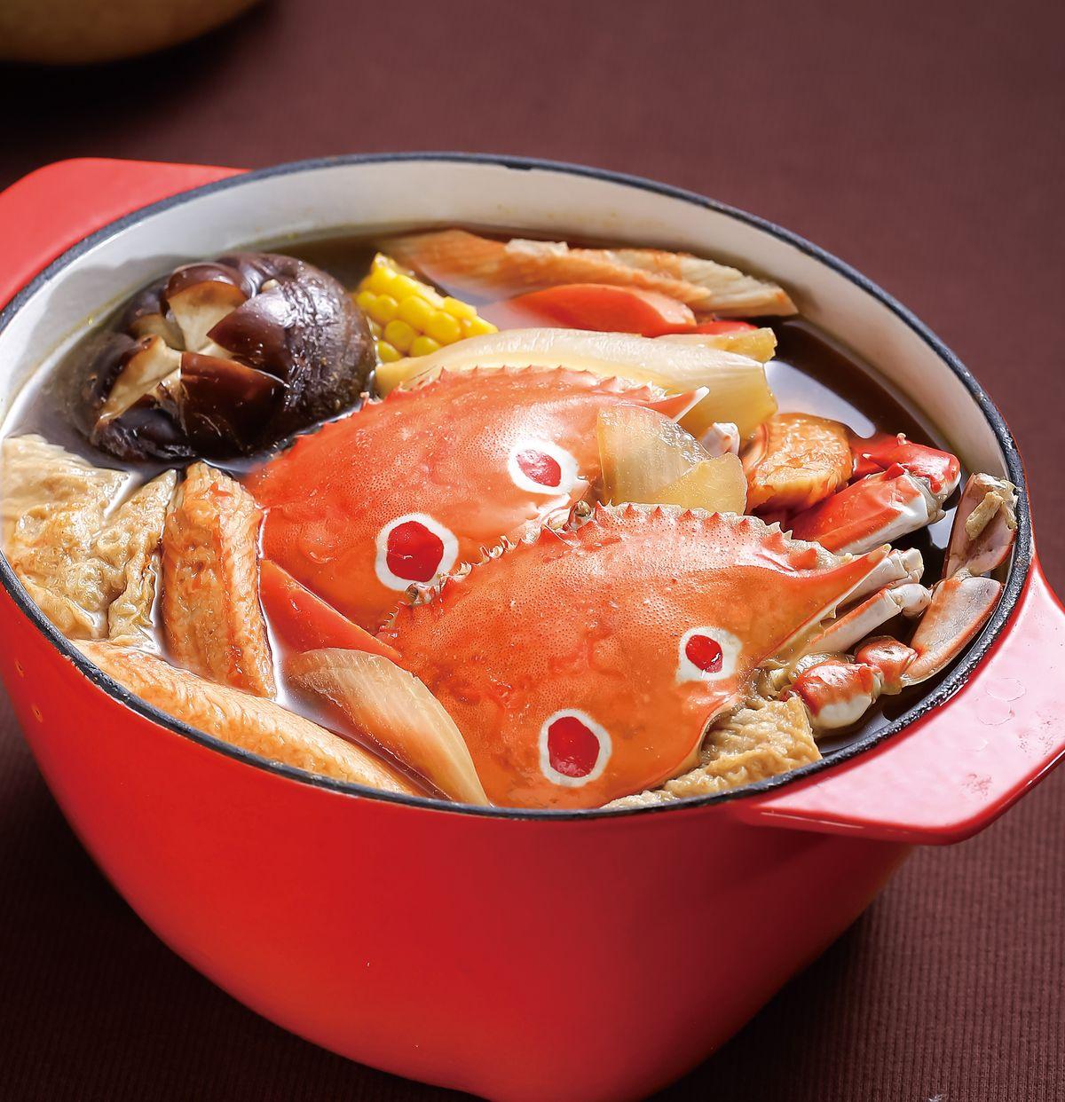 食譜:味噌螃蟹鍋(2)