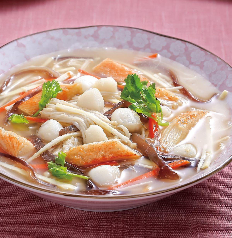 食譜:紅燒干貝海鮮羹