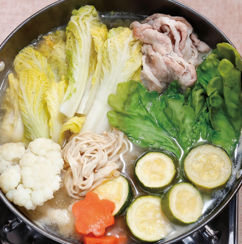 食譜:味噌大白菜鍋