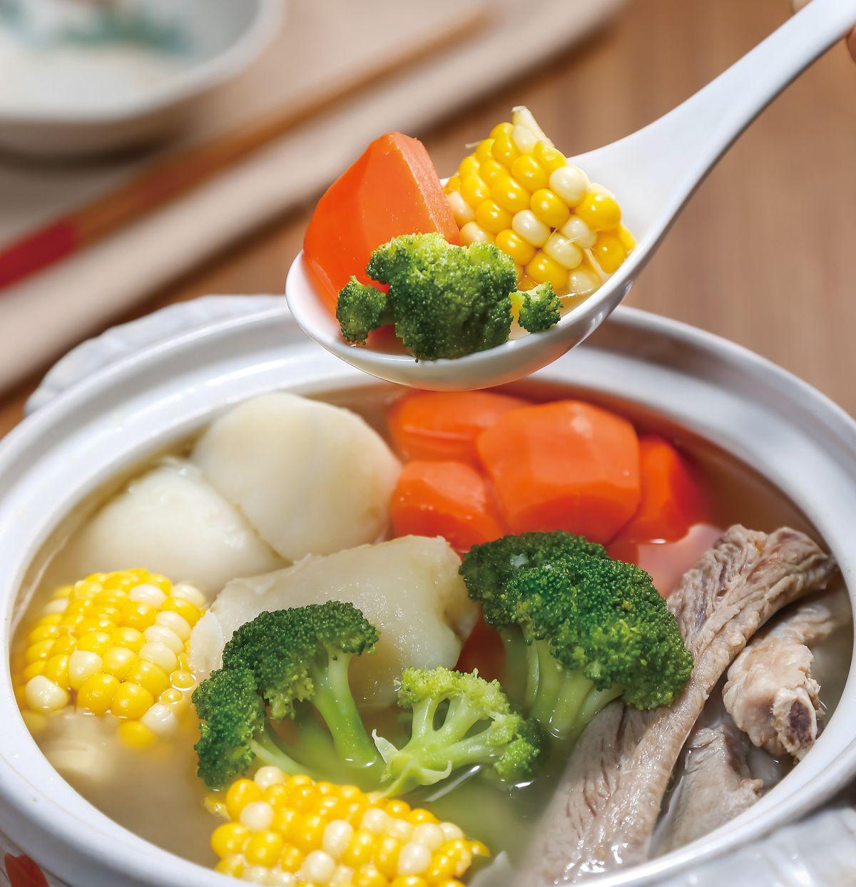 食譜:時蔬活力鍋