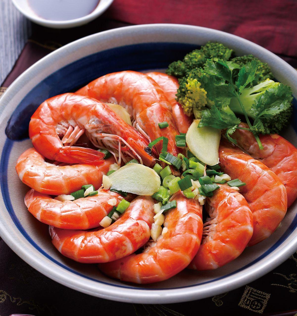 食譜:清蒸大蝦(1)