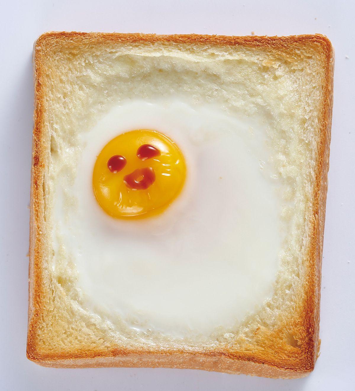 食譜:太陽蛋土司