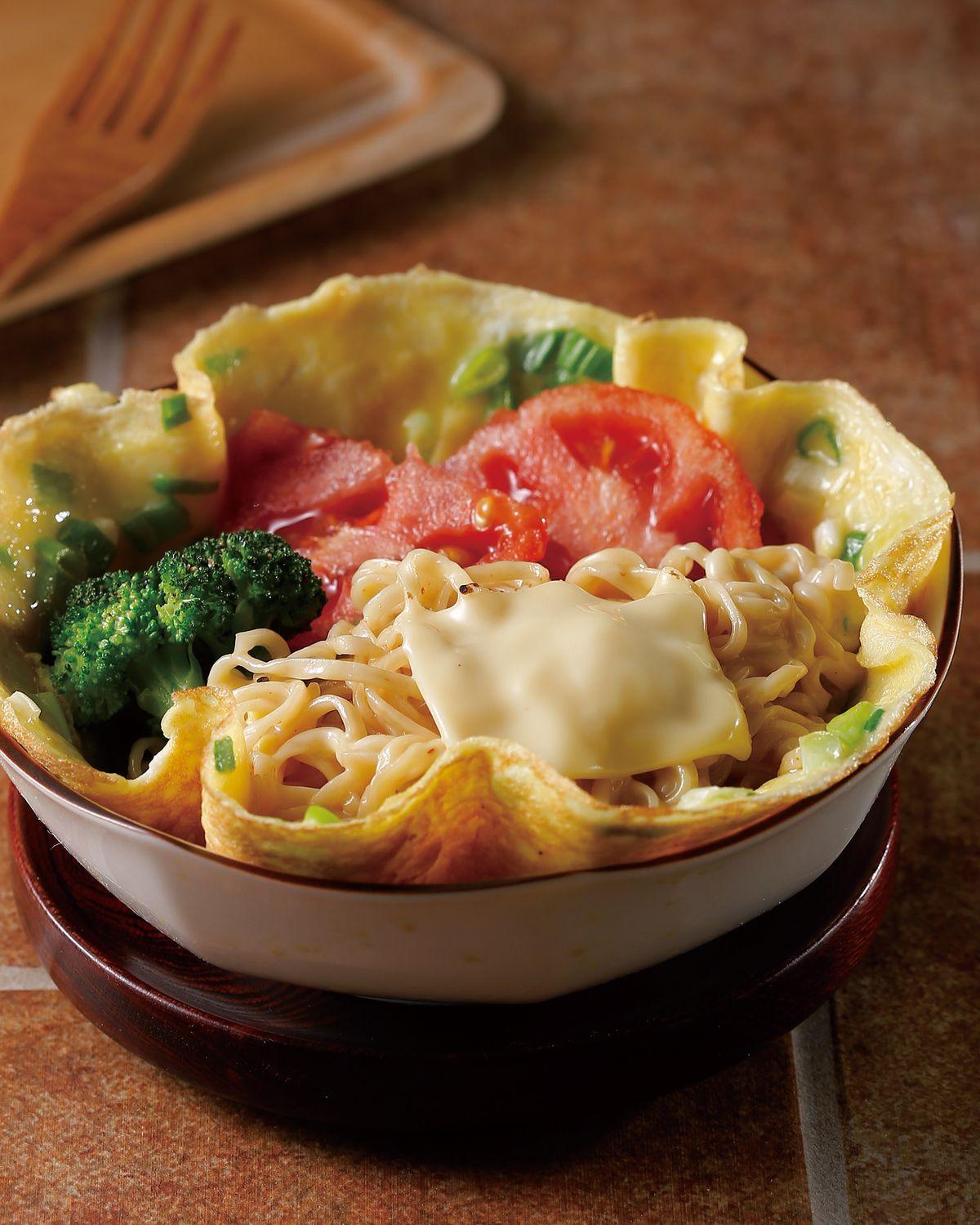 食譜:蛋包炒麵(1)
