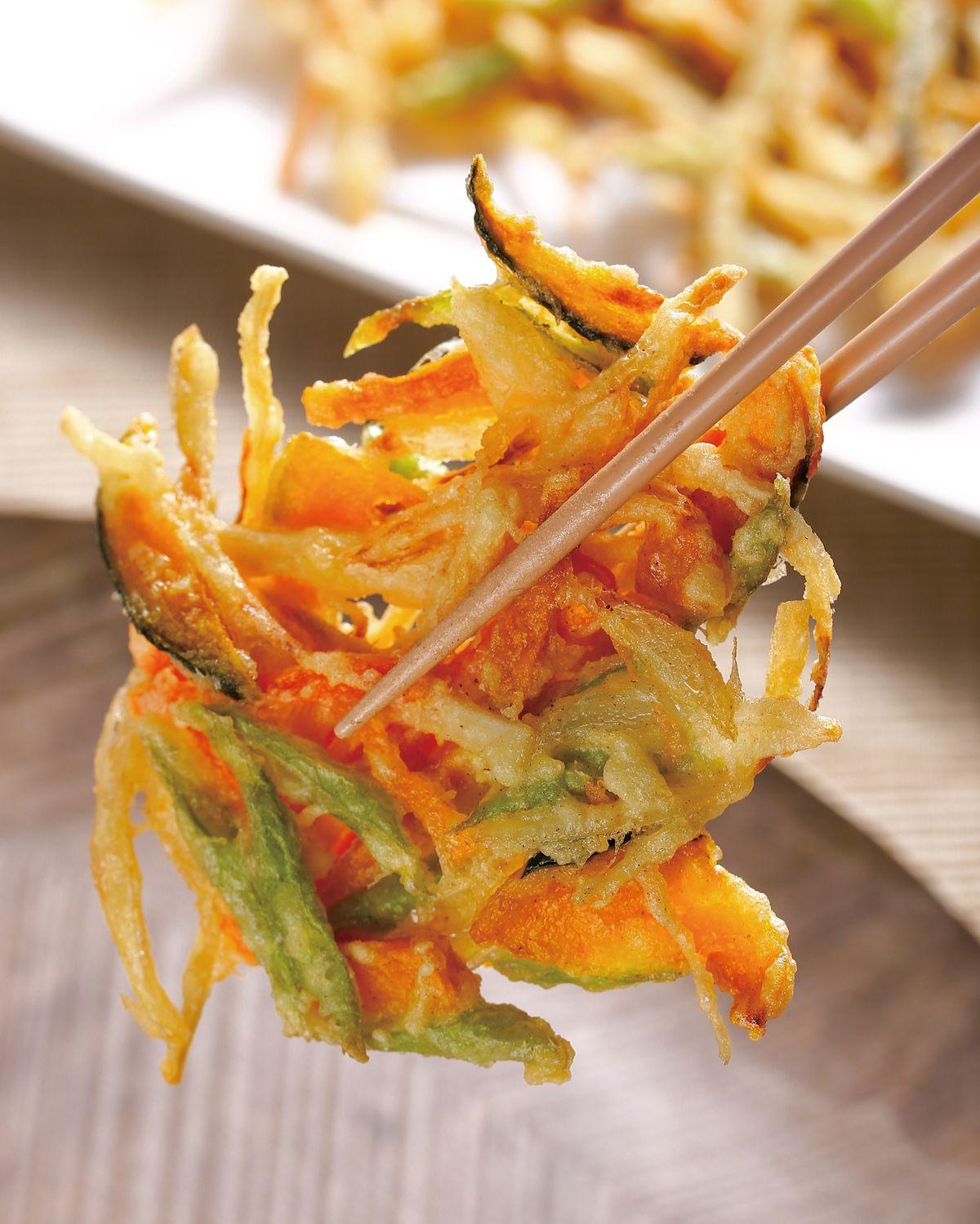 食譜:什錦野菜餅