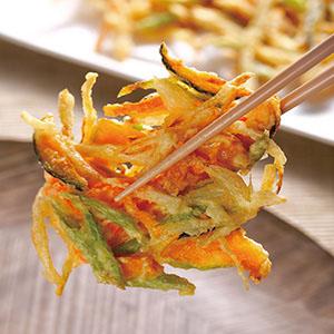 什錦野菜餅