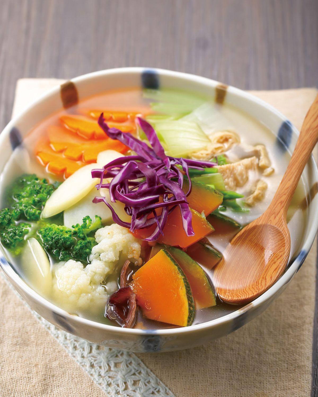 食譜:什錦田園蔬菜湯