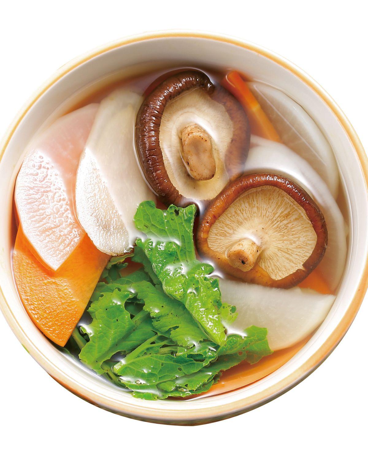 食譜:五行蔬菜湯(1)