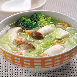 杏鮑高麗花椰菜湯