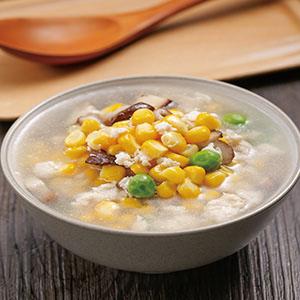 香菇玉米雞蓉湯