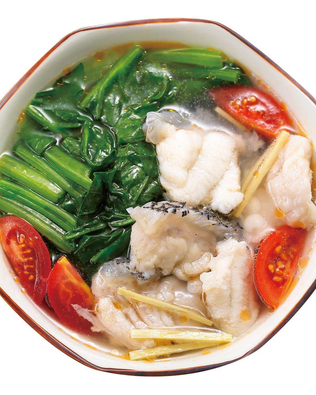 食譜:番茄菠菜魚片湯