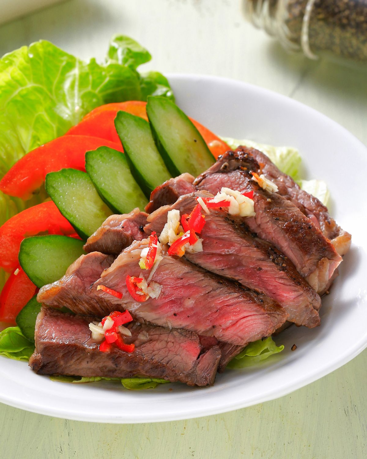 食譜:越南牛排沙拉