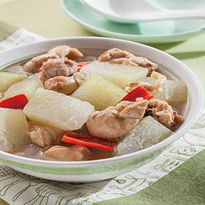 冬瓜燉雞(1)
