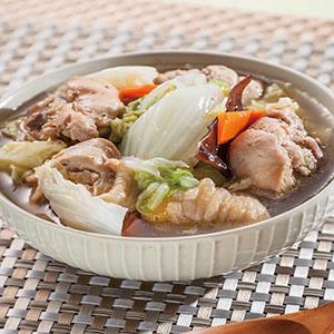 白菜燉雞肉