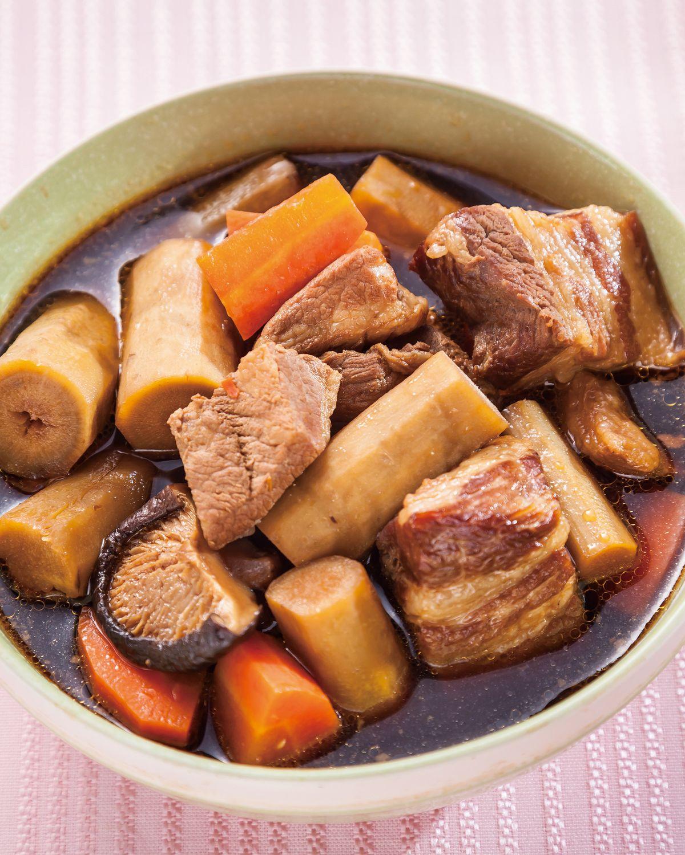 食譜:牛蒡燉豬肉