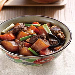 蘿蔔滷肉(1)