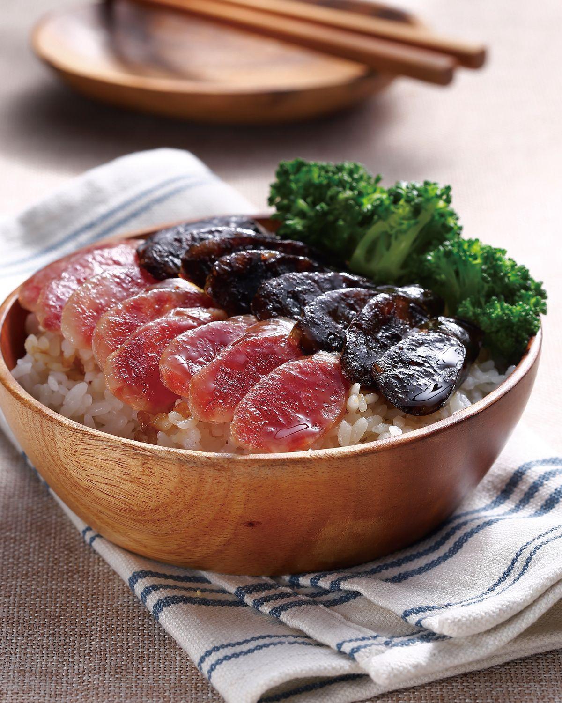 食譜:臘味飯(2)